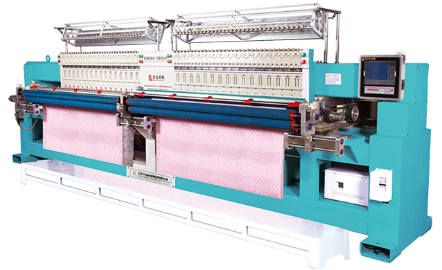 GDD-Y-232 Computerized Quilting Embroidery Machine (Double Roller)