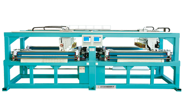 GDD-X-209*2 Horizontal Quilting Embroidery Machine (Double Control, Double width